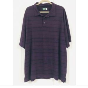 Ben Hogan Performance Golf Polo Shirt 3XL Striped